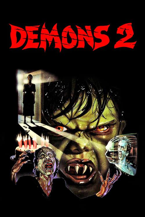 Demons 2 - Movie Poster
