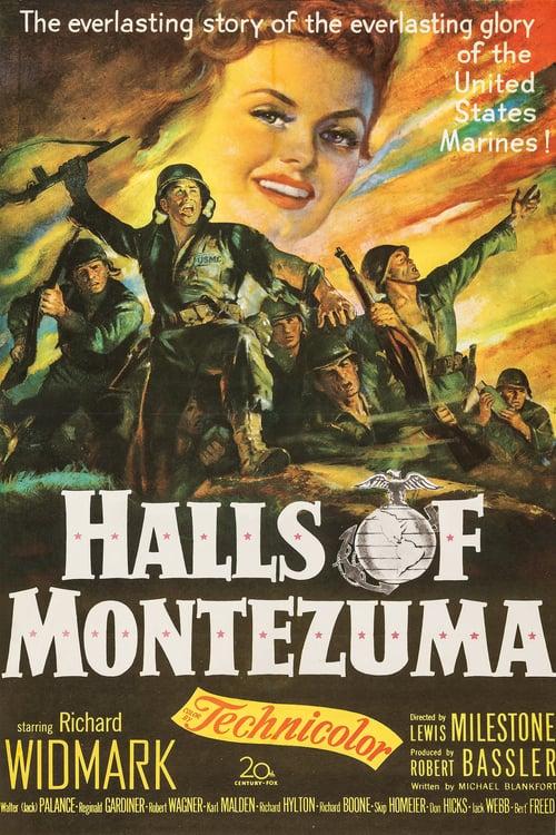 Halls of Montezuma - Movie Poster
