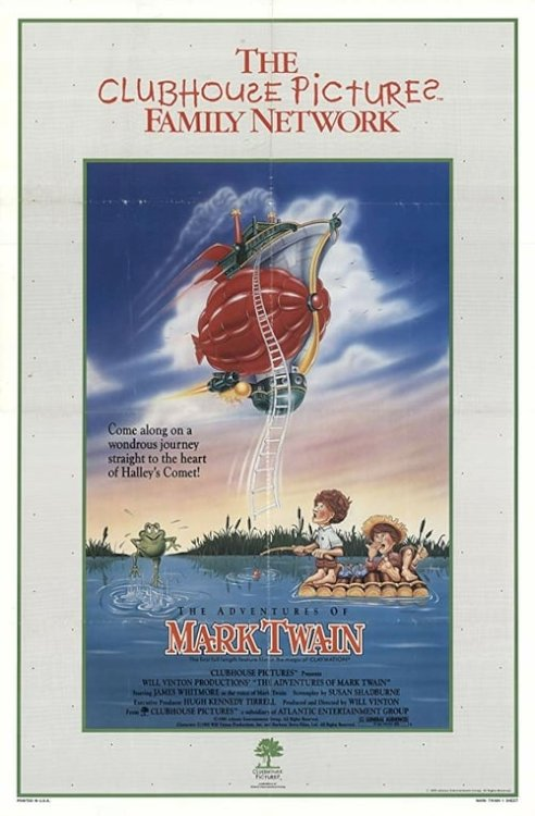 The Adventures of Mark Twain - Movie Poster