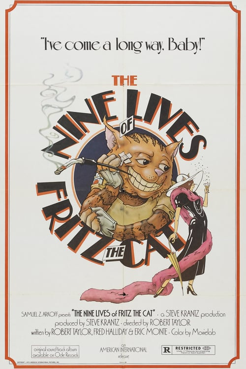 The Nine Lives of Fritz the Cat - Movie Poster