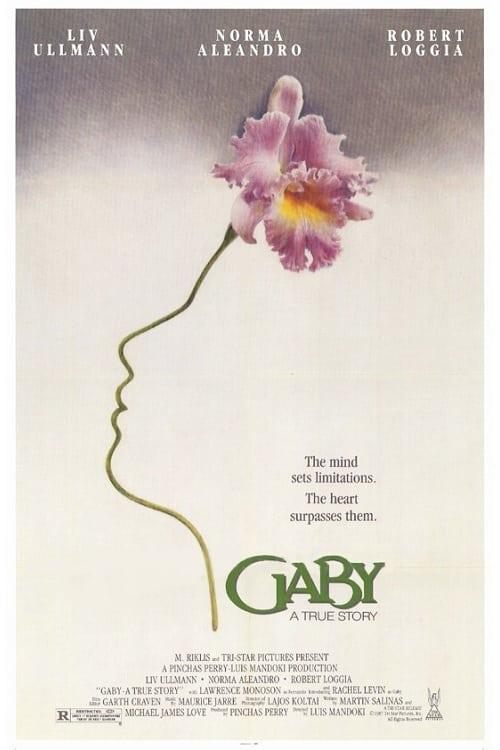 Gaby: A True Story - Movie Poster