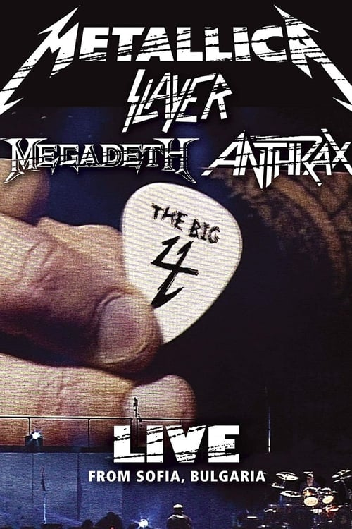 The Big Four: Live in Sofia - Movie Poster