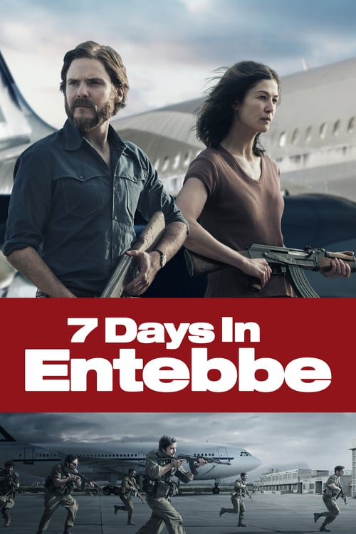 7 Days in Entebbe - Movie Poster