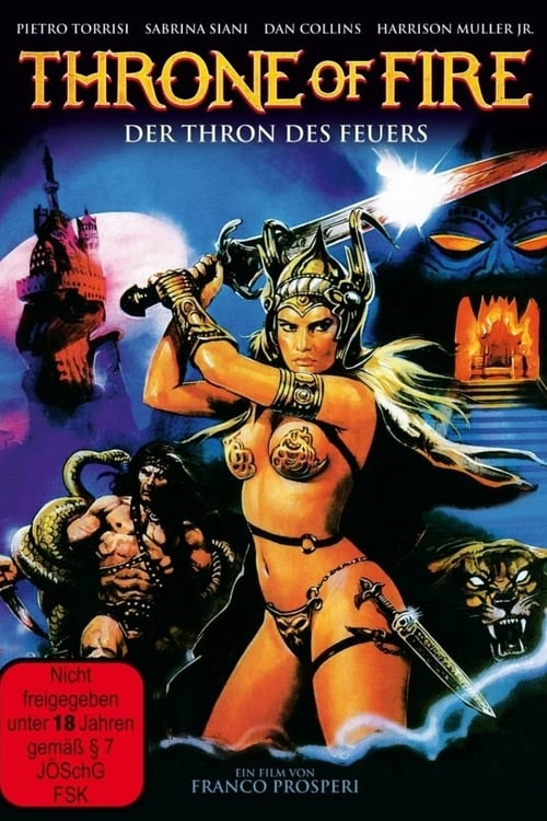 Throne of Fire - Movie Poster