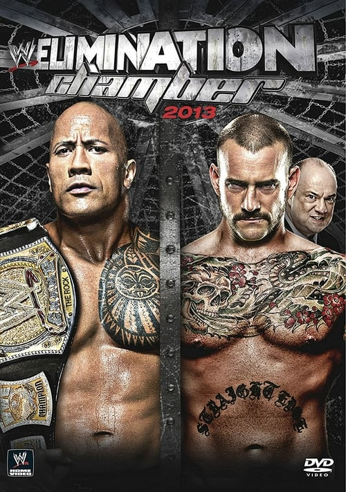 WWE Elimination Chamber 2013 - Movie Poster