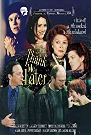 You Can Thank Me Later - Movie Poster