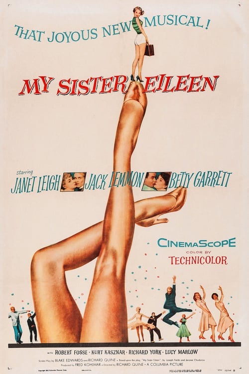 My Sister Eileen - Movie Poster
