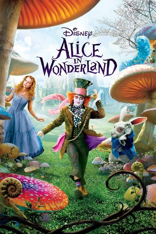 Alice in Wonderland - Movie Poster