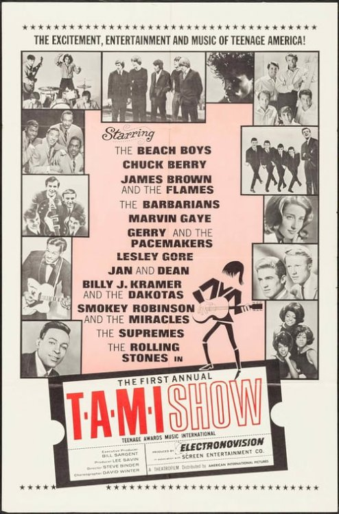 The T.A.M.I. Show - Movie Poster