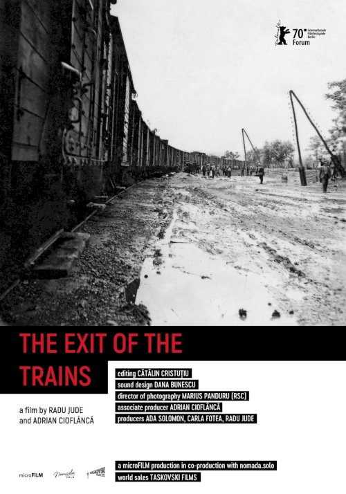 The Exit of the Trains - Movie Poster