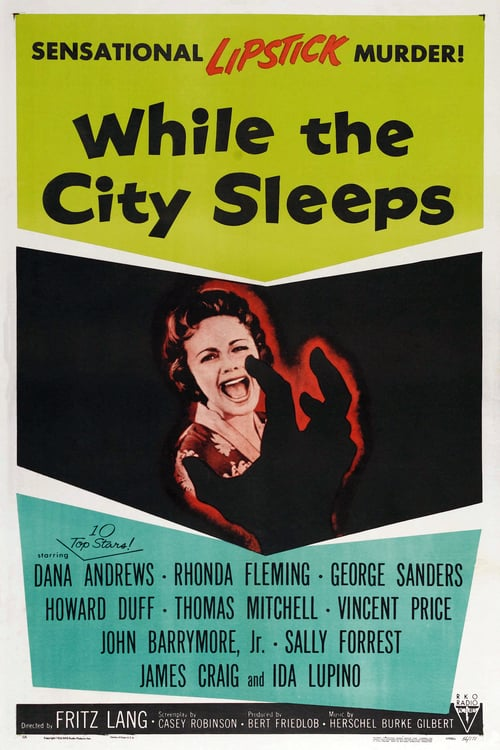 While the City Sleeps - Movie Poster