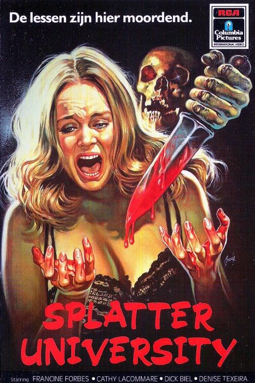 Splatter University - Movie Poster