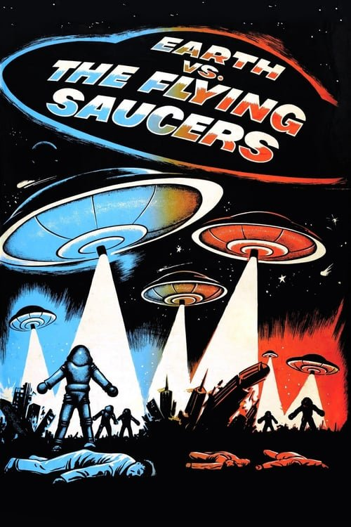 Earth vs. the Flying Saucers - Movie Poster