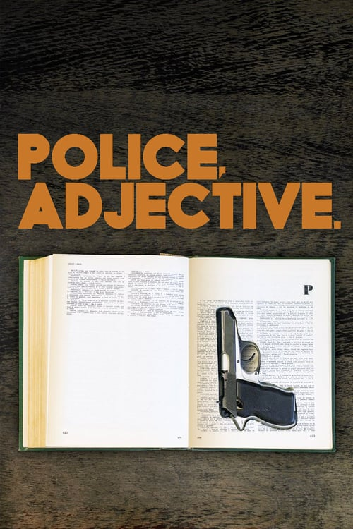 Police, Adjective - Movie Poster
