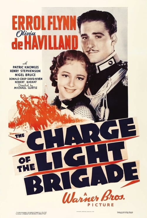 The Charge of the Light Brigade - Movie Poster