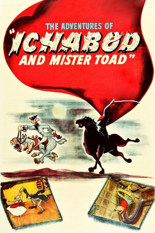 The Adventures of Ichabod and Mr. Toad - Movie Poster