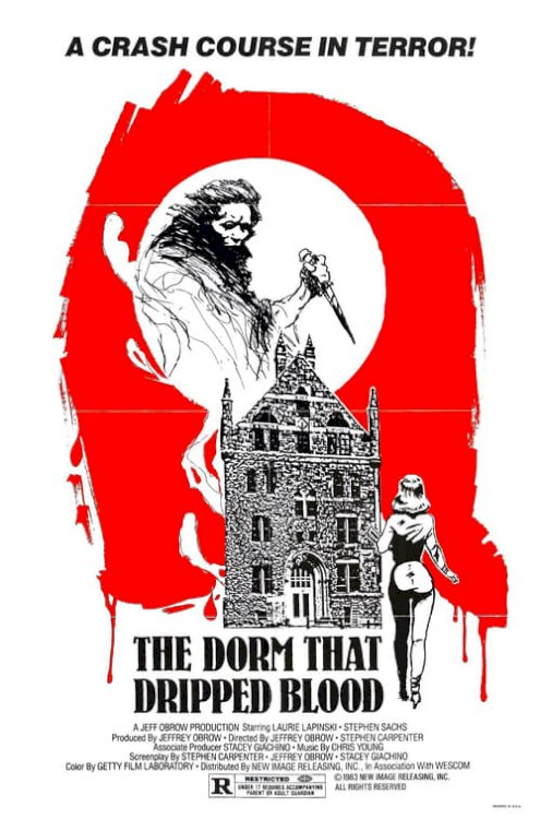 The Dorm That Dripped Blood - Movie Poster