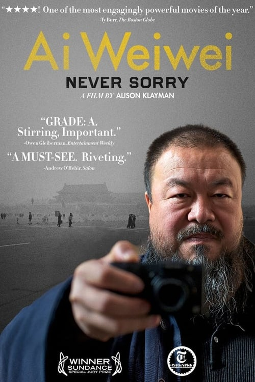 Ai Weiwei: Never Sorry - Movie Poster
