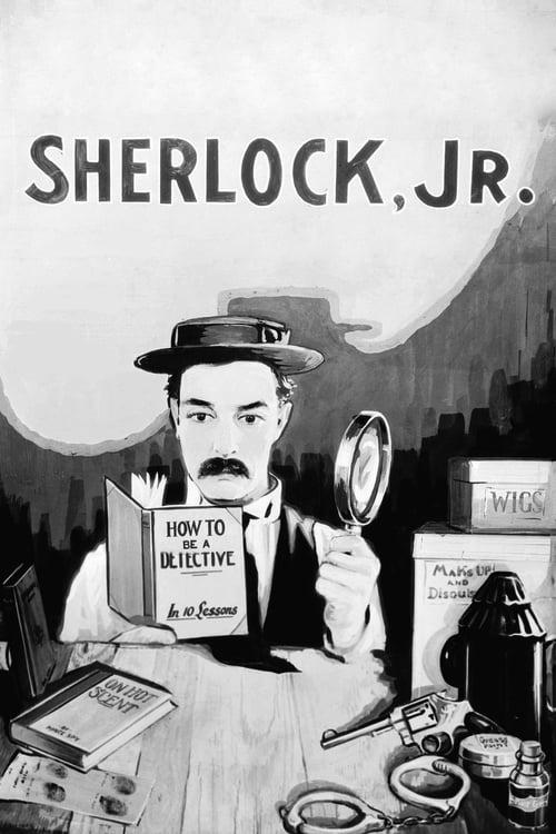 Sherlock Jr. - Movie Poster