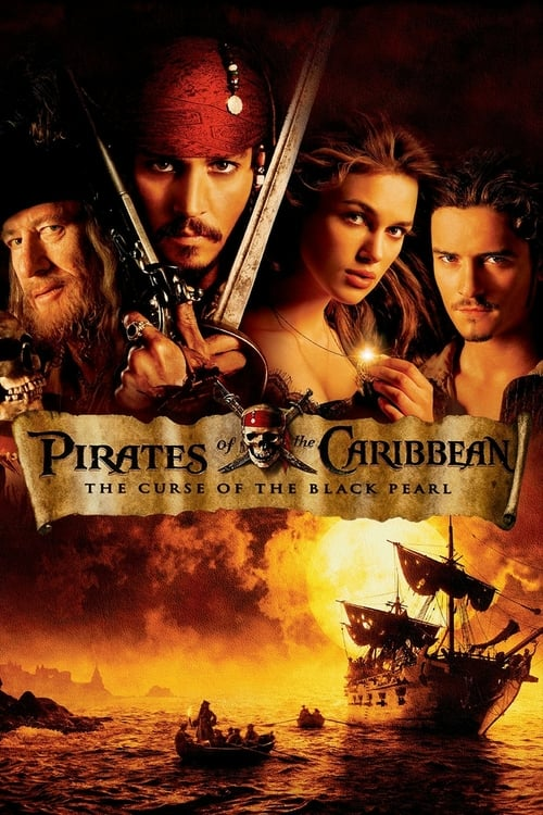 Pirates of the Caribbean: The Curse of the Black Pearl - Movie Poster