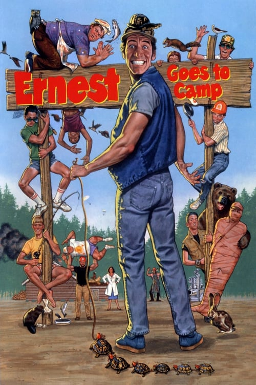 Ernest Goes to Camp - Movie Poster