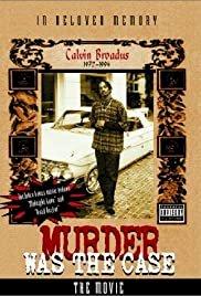 Murder Was the Case: The Movie - Movie Poster