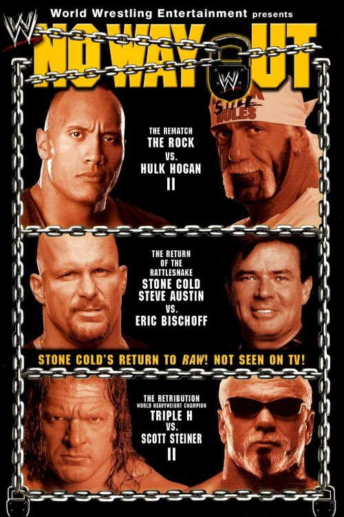 WWE No Way Out 2003 - Movie Poster