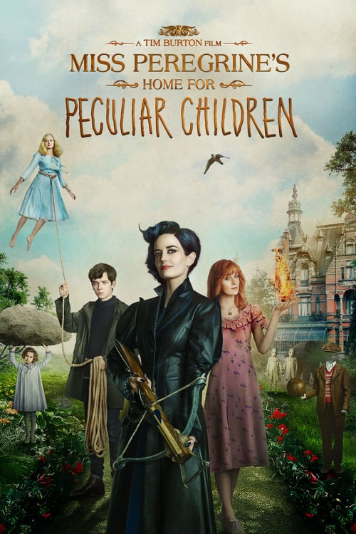 Miss Peregrine's Home for Peculiar Children - Movie Poster