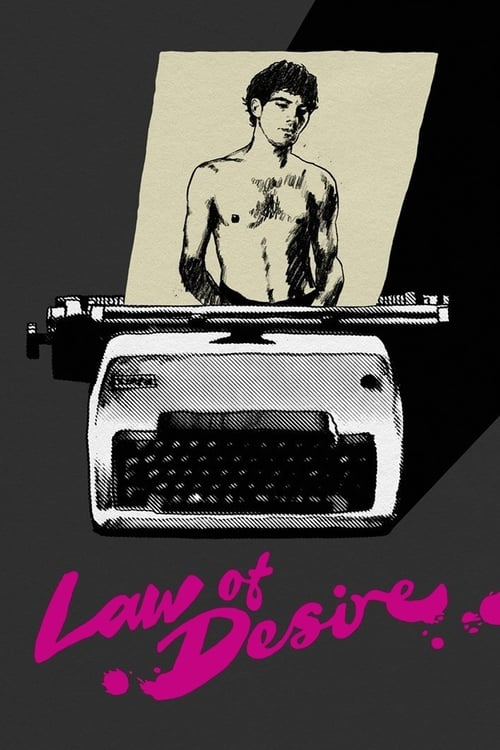 Law of Desire - Movie Poster