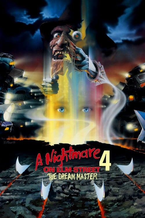 A Nightmare on Elm Street 4: The Dream Master - Movie Poster