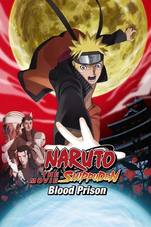 Naruto Shippuden the Movie: Blood Prison - Movie Poster