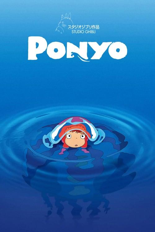 Ponyo - Movie Poster