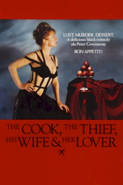 The Cook, the Thief, His Wife & Her Lover - Movie Poster