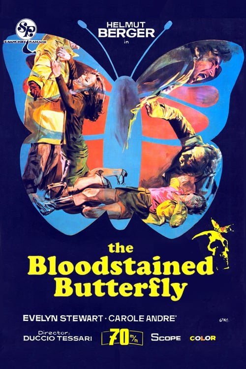 The Bloodstained Butterfly - Movie Poster