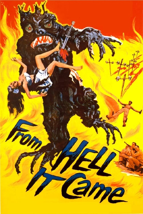 From Hell It Came - Movie Poster