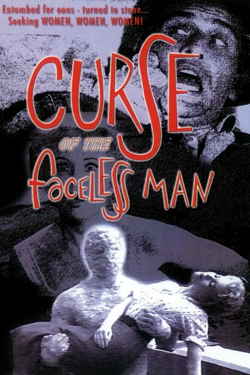Curse of the Faceless Man - Movie Poster