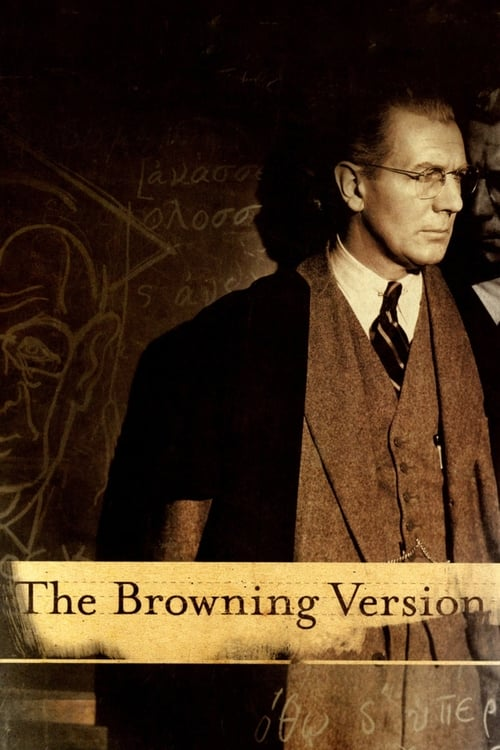 The Browning Version - Movie Poster