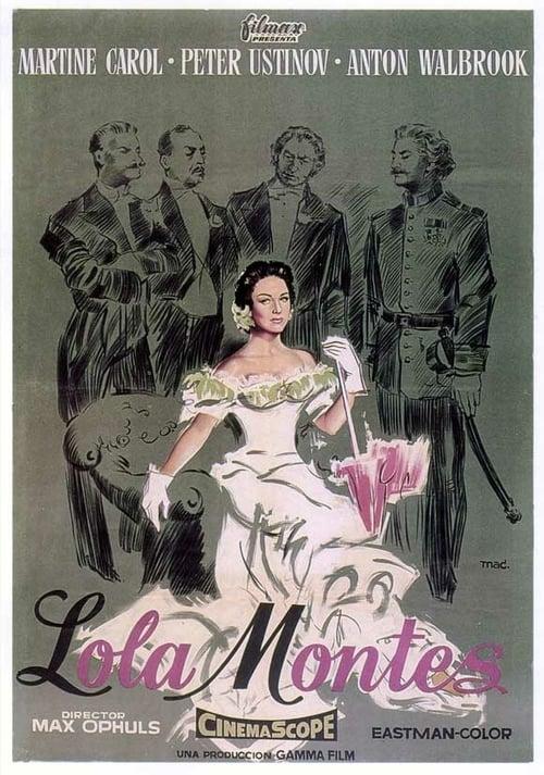 Lola Montès - Movie Poster