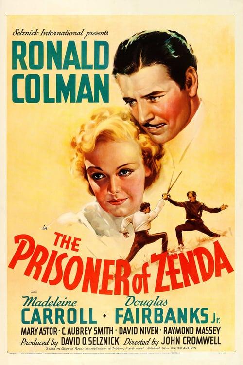 The Prisoner of Zenda - Movie Poster