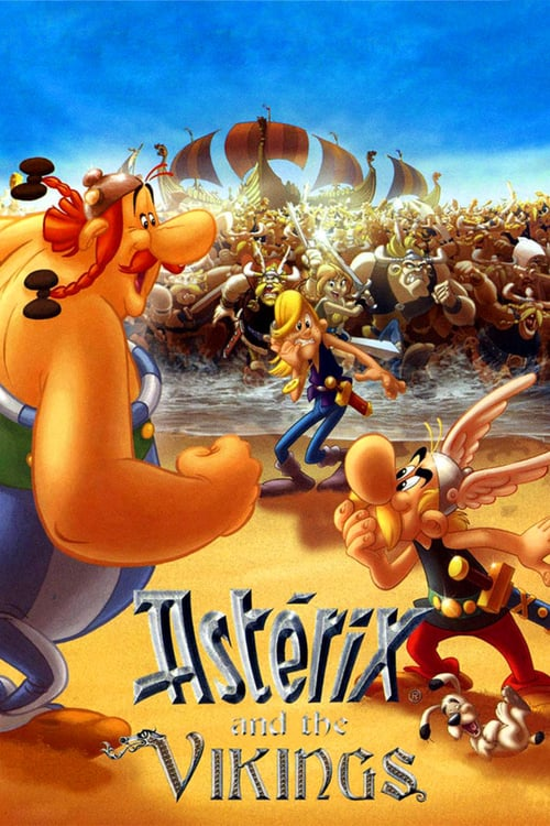 Asterix and the Vikings - Movie Poster