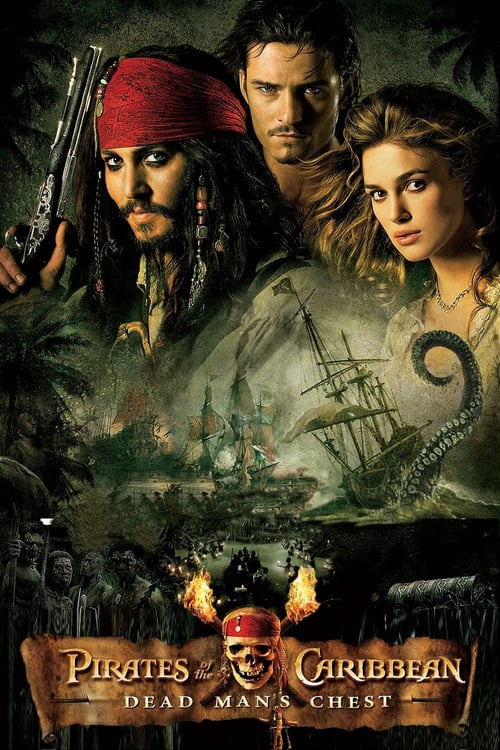 Pirates of the Caribbean: Dead Man's Chest - Movie Poster