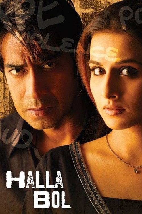 Halla Bol - Movie Poster