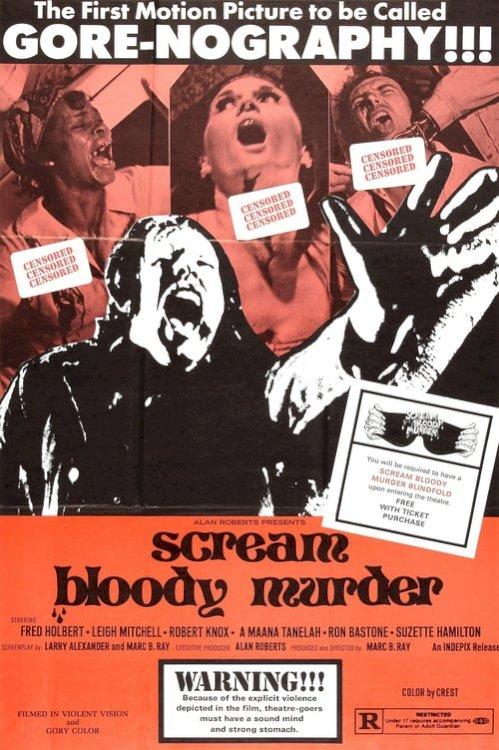 Scream Bloody Murder - Movie Poster