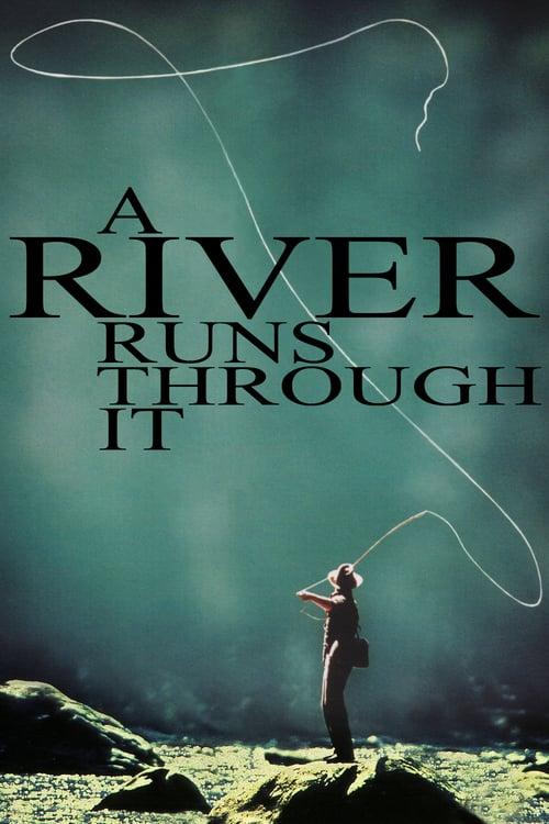 A River Runs Through It - Movie Poster
