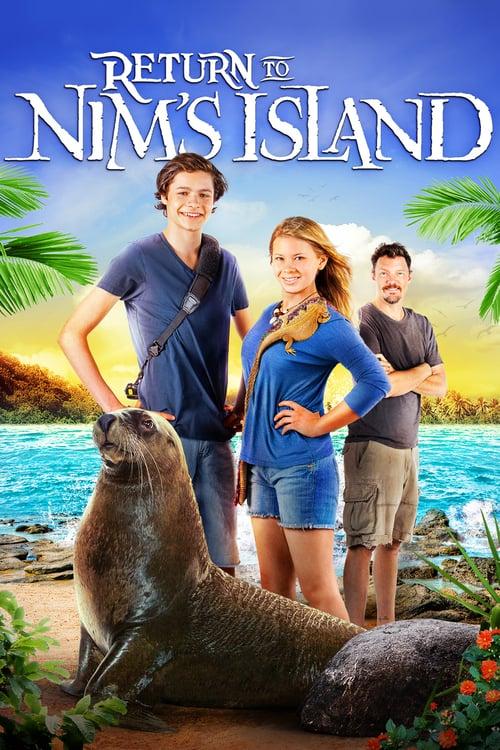 Return to Nim's Island - Movie Poster