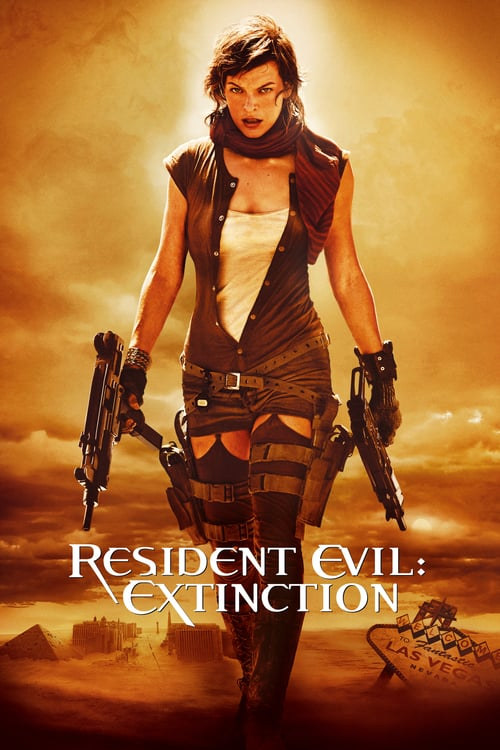 Resident Evil: Extinction - Movie Poster