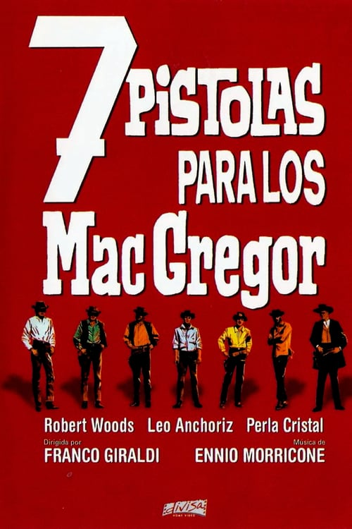 Seven Guns for the MacGregors - Movie Poster