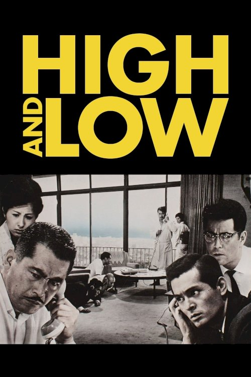 High and Low - Movie Poster