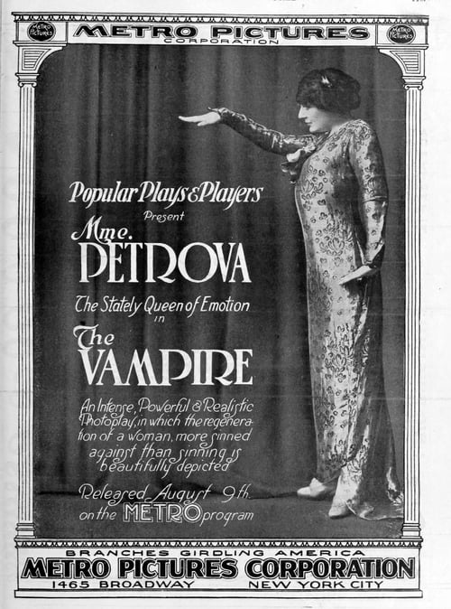 Les Vampires - Movie Poster