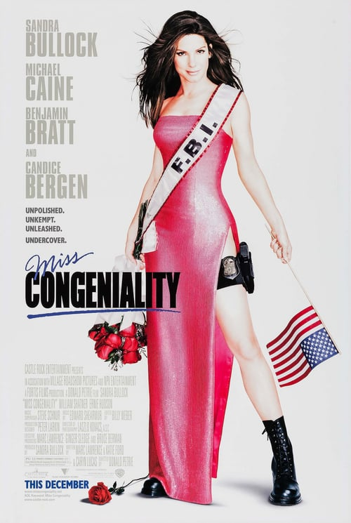 Miss Congeniality - Movie Poster